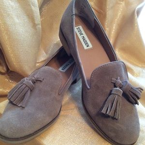 "NWOT Steve Madden ""Alore"" Suede Loafers"